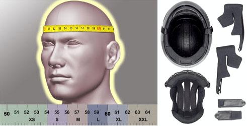 Choisir sa taille de casque