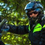 Casque moto pour lunettes
